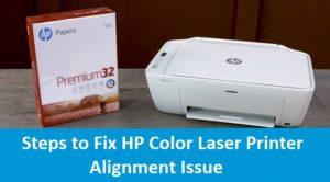 Laser Printer Alignment Issue