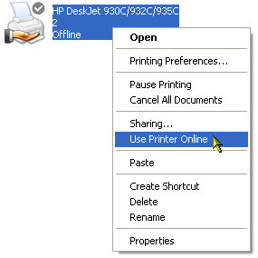 use-printer-online