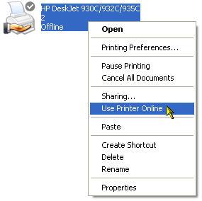 use-printer-online