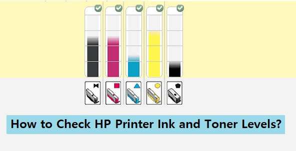Check HP Printer Ink and Toner Levels