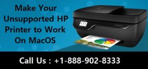 Make Your Unsupported HP Printer to Work On MacOS