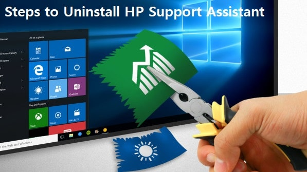 Uninstall HP Support Assistant