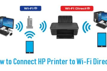 Connect HP Printer to Wi-Fi Direct