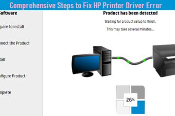 Steps to Fix HP Printer Driver Error