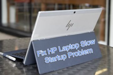 Fix HP Laptop Slow Startup Problem