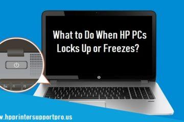 HP PCs Locks Up or Freezes