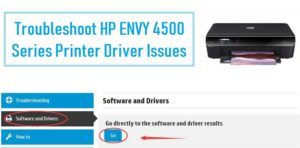 drivers for hp envy 4500 wireless printer