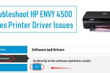 HP ENVY 4500 Series Printer Driver