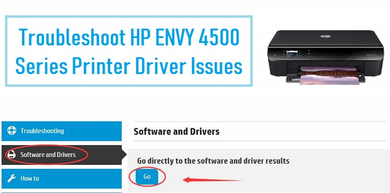 HP ENVY 4500 Series Printer Driver