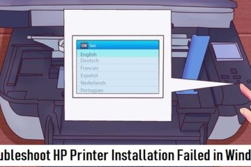 HP Printer Installation Failed in Windows
