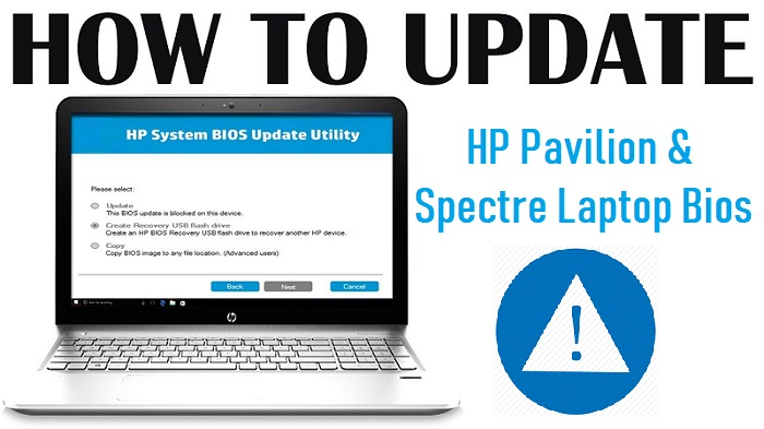 Update HP Pavilion & Spectre Laptop Bios | Call 1-888-816-4888