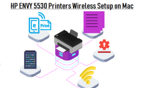 HP ENVY 5530 Printers Wireless Setup on Mac