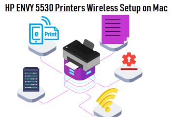 HP ENVY 5530 Printers Wireless Setup on Mac