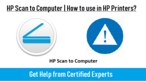 HP Scan to Computer