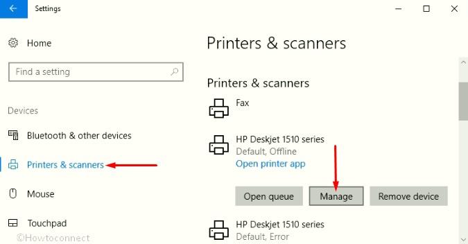 Find HP Printer MAC Address