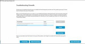 Firewall Blocking Driver Install or Printer Function