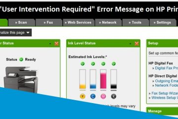 Fix User Intervention Required Error Message