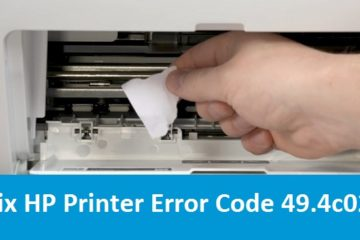 Fix HP Printer Error Code 49.4c02