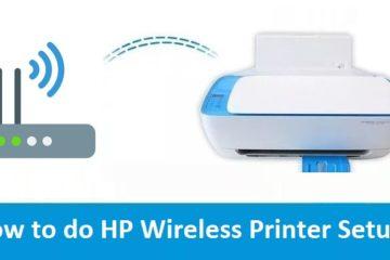 HP Wireless Printer Setup