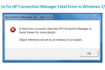 HP-Connection-Manager-Fatal-Error