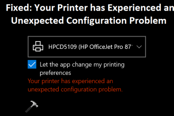 Printer-Experienced-Unexpected-Configuration-Problem