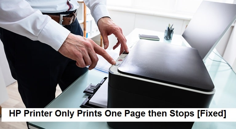 HP-Printer-Only-Prints-One-Page